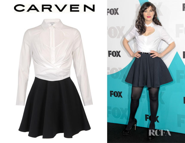Zooey Deschanel Carven