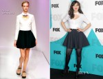 Zooey Deschanel In Carven – Fox 2012 Programming Presentation Post-Show Party