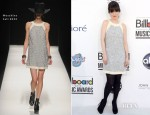 Zooey Deschanel In Moschino - 2012 Billboard Music Awards