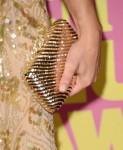 Kristen Bell's Judith Leiber clutch