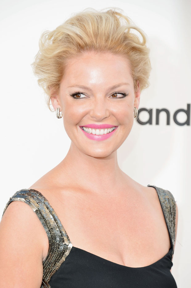 Katherine Heigl in Monique Lhuillier