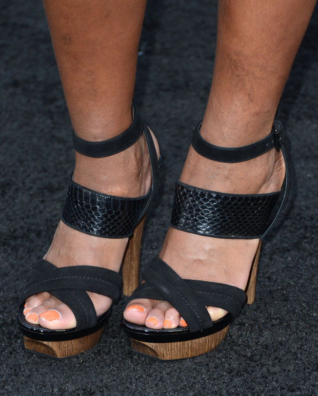 Mary J Blige's shoes