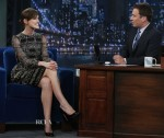 Keira Knightley In Valentino - Late Night with Jimmy Fallon