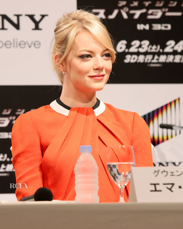 Emma Stone in Rue du Mail