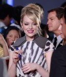 Emma Stone in Fendi