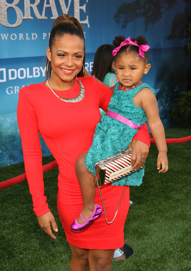 Christina Milian in Thatcher Collection