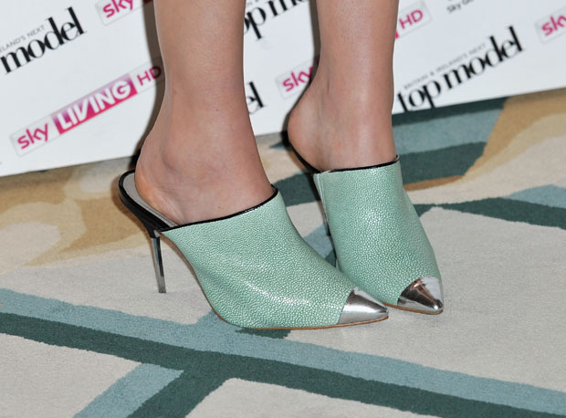 Whitney Port's ASOS mules