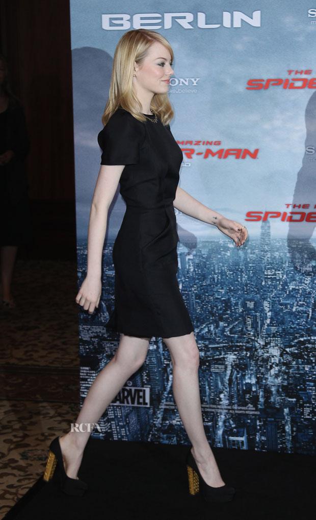 Emma Stone in Martin Grant
