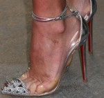 Olivia Munn's Christian Louboutin heels