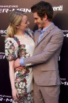 Emma Stone in Dolce & Gabbana and Andrew Garfield in Band of Outsiders