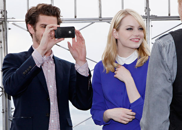 Emma Stone in Carven