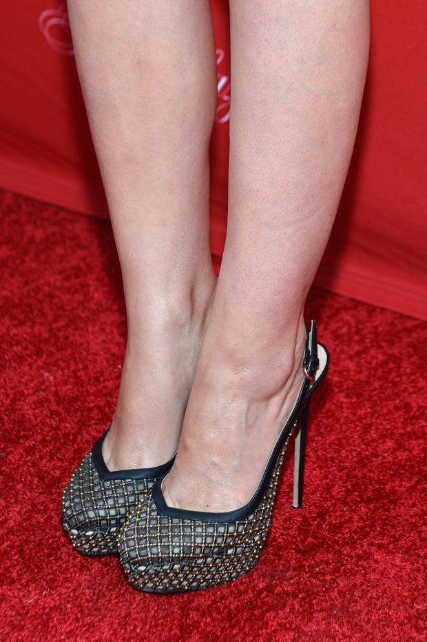 Rose Byrne's  Valentino heels