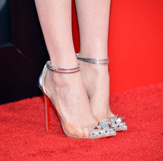 Emma Stone's Christian Louboutin 'Just Picks' heels