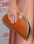 Anna Friel's clutch