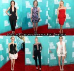 Who Was Your Best Dressed At  The 2012 MTV Movie Awards?