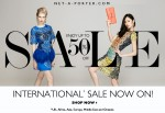 Net-A-Porter International Sale NOW ON