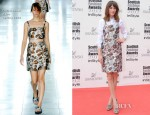 Alexa Chung In Christopher Kane - Scottish Fashion Awards 2012