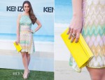 Alicia Sanz In Missoni - Kenzo Summer Party