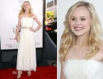 Alison Pill In Kevan Hall - 'To Rome With Love' Los Angeles Film Festival Premiere