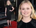 Alison Pill In Kevan Hall - HBO's 'The Newsroom' Premiere