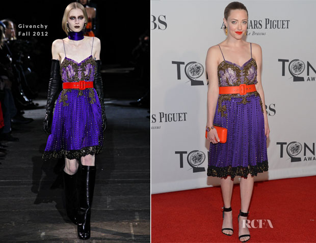 Amanda Seyfried In Givenchy - 2012 Tony Awards