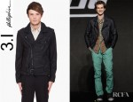 Andrew Garfield's 3.1 Phillip Lim Leather Motorcycle Jacket