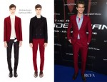 Andrew Garfield In Balenciaga - The Amazing Spider-Man' Paris Premiere