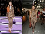 Anna Dello Russo In Prada - Spring 2013 Milan Menswear Fashion Week