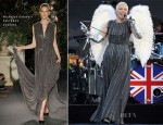 Annie Lennox In Nicholas Oakwell Couture - Diamond Jubilee Concert