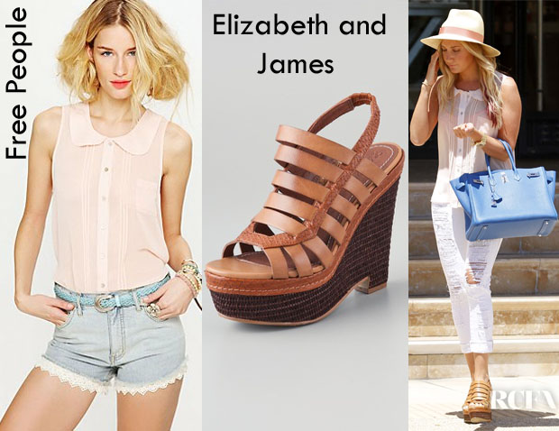 Ashley Tisdale Free People Elizabeth and James