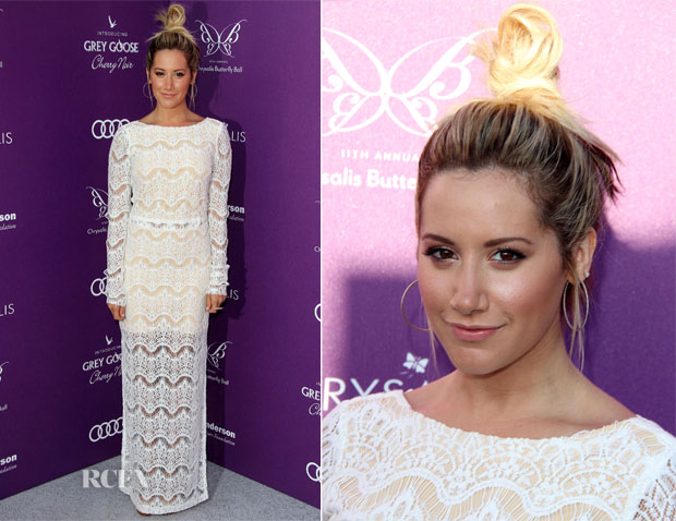 Ashley Tisdale In Again Elaine - 11th Annual Chrysalis Butterfly Ball