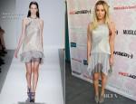 Ashley Tisdale In Rebecca Taylor - Bravo's 'Miss Advised' LA Screening
