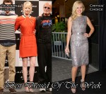 Best Dressed Of The Week - Emma Stone in Rue du Mail & Malin Akerman in Philosophy di Alberta Ferretti