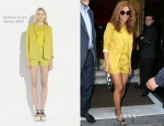 Beyonce Knowles In Surface To Air - Lunch In Paris