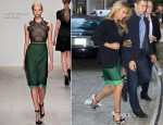 Blake Lively In Marios Schwab - The Charlie Rose Show