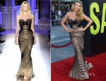 Blake Lively In Zuhair Murad Couture - 'Savages' LA Premiere