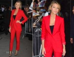 Blake Lively In Michael Kors - Good Morning America
