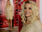 Britney Spears In Lorena Sarbu - The X Factor Oakland Auditions