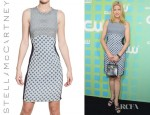 Candace Bushnell's Stella McCartney Printed Viscose Jersey Dress