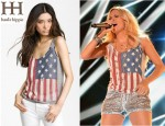 Carrie Underwood's Haute Hippie Laura Flag Tank