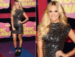 Carrie Underwood In Randi Rahm - 2012 CMT Music Awards