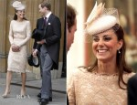 Catherine, Duchess of Cambridge In Alexander McQueen - St. Paul's Cathedral