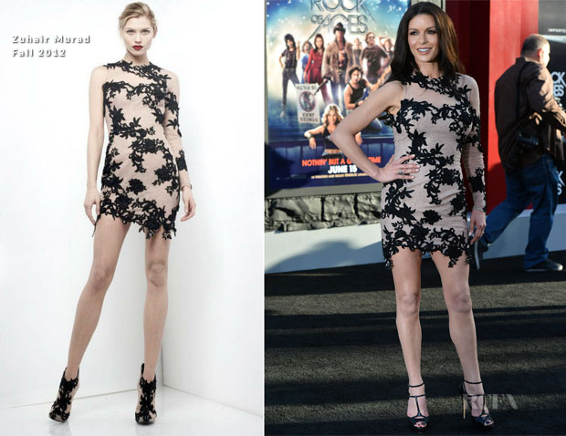 Catherine Zeta-Jones In Zuhair Murad - 'Rock Of Ages' LA Premiere