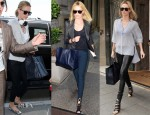 Charlize Theron Loves Her...Balenciaga 'Papier' Bag