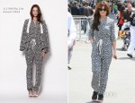 Cheryl Cole In 3.1 Phillip Lim - Sightseeing In Paris