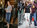 Cheryl Cole In A.P.C & Paige Denim - Kiss FM & BBC Radio 1