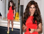 Cheryl Cole In Dion Lee - Girls Night Out In Paris