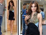 Cheryl Cole In Ksubi - Dinner In Paris