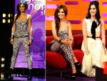 Cheryl Cole In McQ Alexander McQueen - The Graham Norton Show