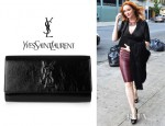 Christina Hendricks' YSL Belle de Jour Clutch